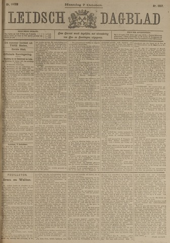 Leidsch Dagblad 1907-10-07