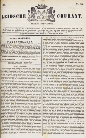 Leydse Courant 1879-09-12