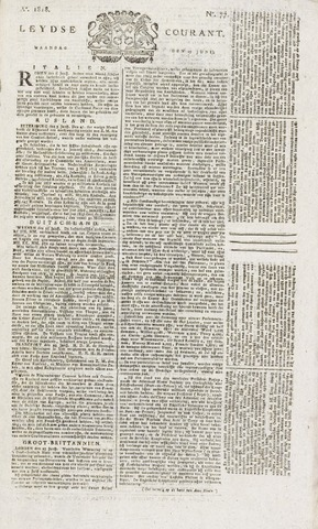 Leydse Courant 1818-06-29