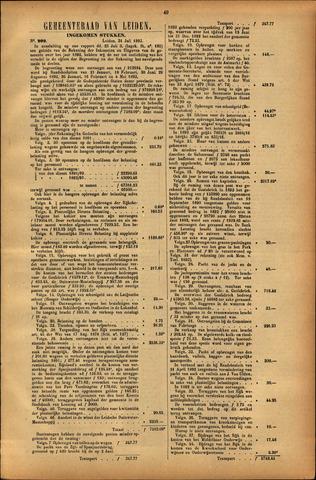 Handelingen van de Raad 1893-07-31