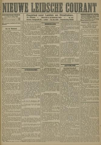 Nieuwe Leidsche Courant 1923-08-03