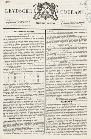 Leydse Courant 1855-06-25