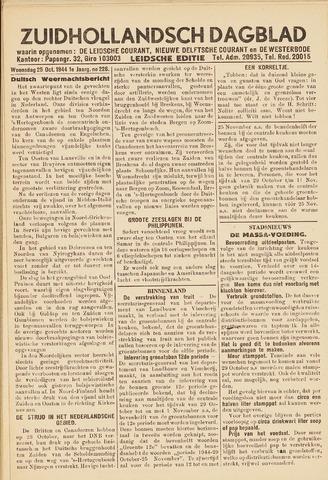 Zuidhollandsch Dagblad 1944-10-25