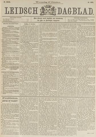 Leidsch Dagblad 1894-10-17