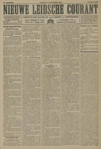 Nieuwe Leidsche Courant 1927-09-19
