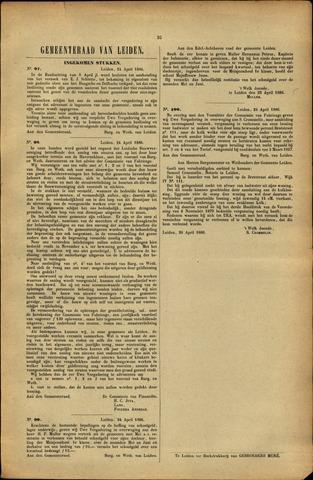 Handelingen van de Raad 1886-04-24