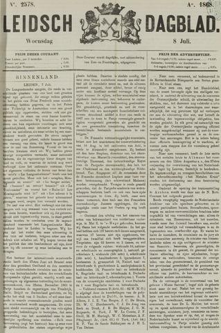 Leidsch Dagblad 1868-07-08