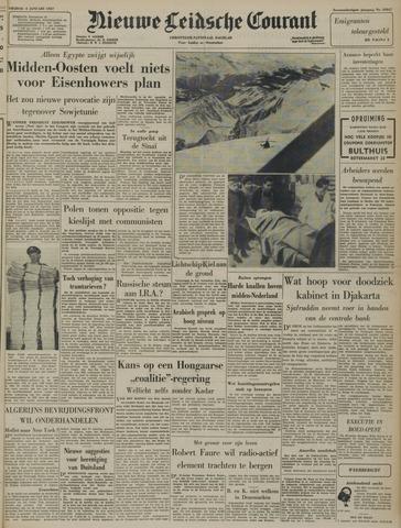 Nieuwe Leidsche Courant 1957-01-04