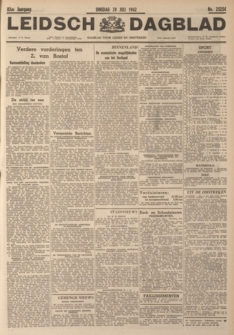 Leidsch Dagblad 1942-07-28