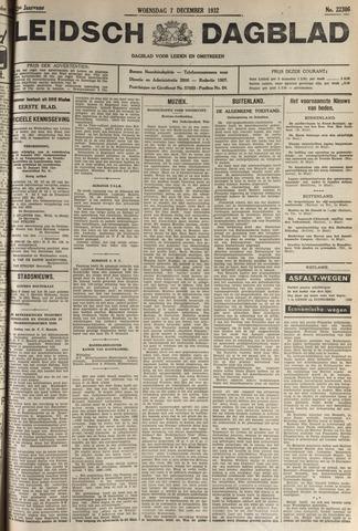 Leidsch Dagblad 1932-12-07