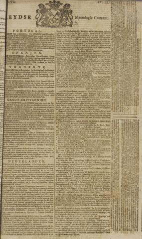 Leydse Courant 1771-09-30