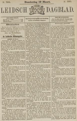 Leidsch Dagblad 1885-03-19