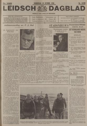 Leidsch Dagblad 1938-10-20