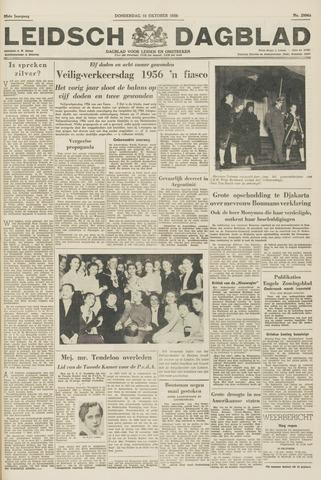 Leidsch Dagblad 1956-10-18