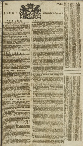 Leydse Courant 1772-08-19