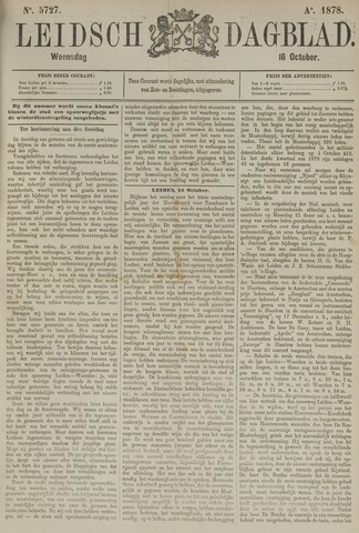 Leidsch Dagblad 1878-10-16