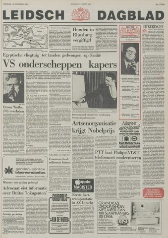 Leidsch Dagblad 1985-10-11