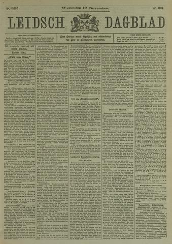Leidsch Dagblad 1909-11-10