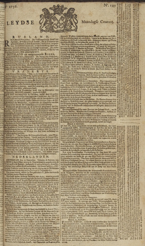 Leydse Courant 1756-12-13