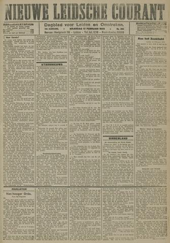 Nieuwe Leidsche Courant 1923-02-12