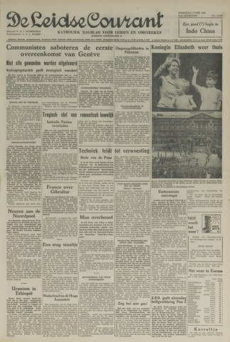 Leidse Courant 1954-05-17