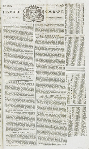 Leydse Courant 1828-11-19