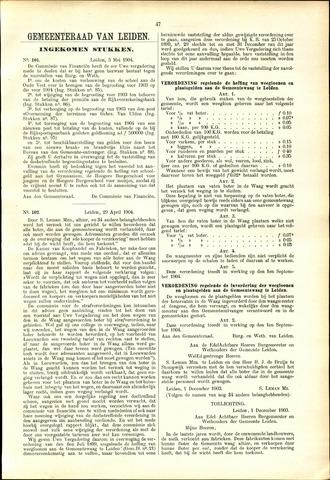 Handelingen van de Raad 1904-05-03
