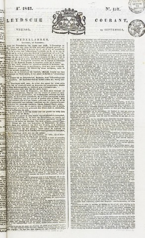 Leydse Courant 1843-09-29