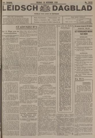 Leidsch Dagblad 1938-11-18