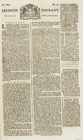 Leydse Courant 1826-02-22