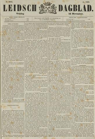 Leidsch Dagblad 1869-11-12