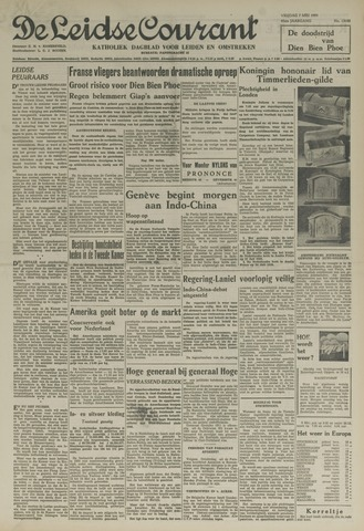 Leidse Courant 1954-05-07