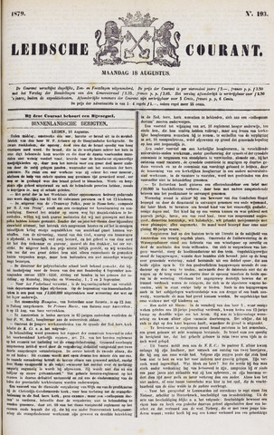 Leydse Courant 1879-08-18