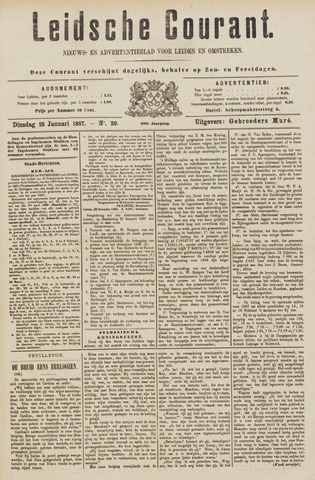 Leydse Courant 1887-01-25