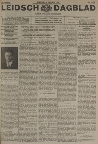 Leidsch Dagblad 1935-10-30