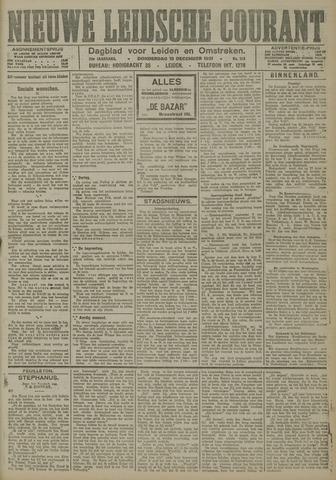Nieuwe Leidsche Courant 1921-12-15