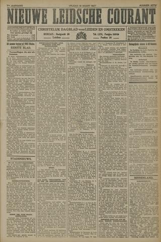 Nieuwe Leidsche Courant 1927-03-18