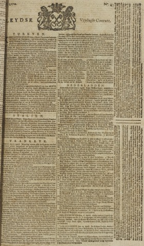 Leydse Courant 1770-04-13