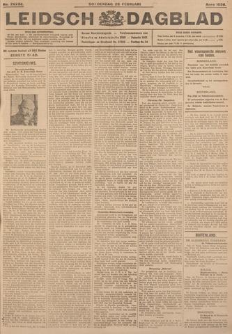 Leidsch Dagblad 1926-02-25