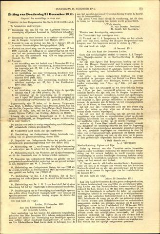 Handelingen van de Raad 1911-12-21