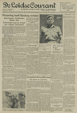 Leidse Courant 1950-01-24