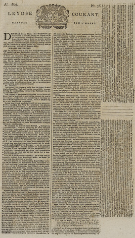 Leydse Courant 1805-03-25