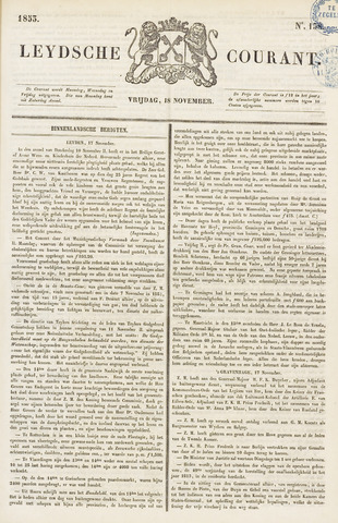 Leydse Courant 1853-11-18
