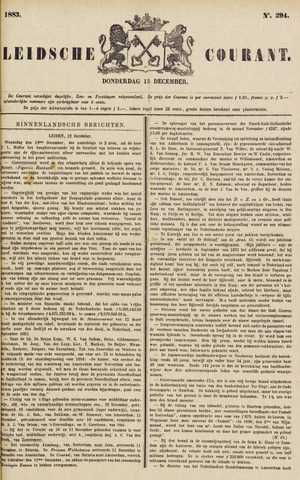 Leydse Courant 1883-12-13