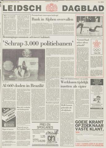 Leidsch Dagblad 1988-02-22