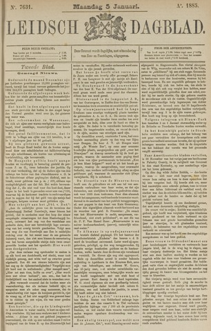Leidsch Dagblad 1885-01-05