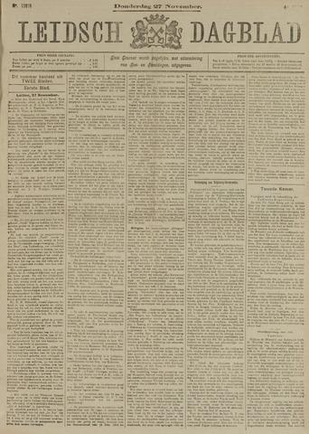 Leidsch Dagblad 1902-11-27