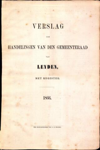 Handelingen van de Raad 1866-01-01