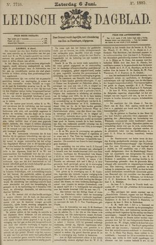 Leidsch Dagblad 1885-06-06