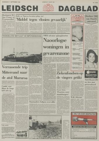 Leidsch Dagblad 1985-09-11